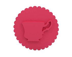 design Cookie stamp - Stamp 3D print model