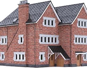 English Brick House 16 3D model