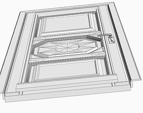 Wooden Door 3D model entrance