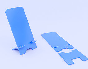 Phone stand holder with 2 parts 3D print model