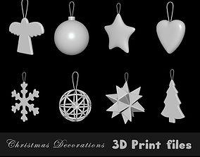 tree 3D printable model Christmas Decorations