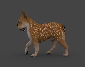UVWD-002 Dog Textures Only 3D model