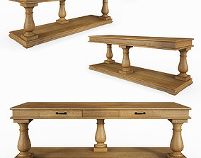 Salvage Baluster Console 3D model