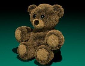 Teddy 3D asset