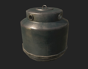 Bottle Recycling Container PBR 3D model