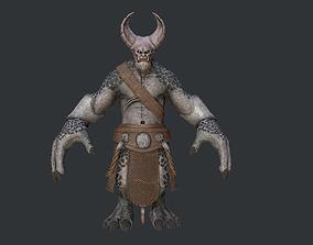 The Anger monster 3D asset