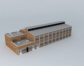 Factory Condominiums 3D model