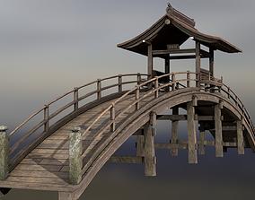 Rinzai Zen Bridge 3D asset