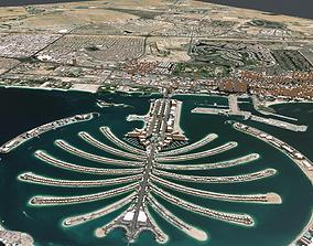 Cityscape Dubai United Arab Emirates 3D model