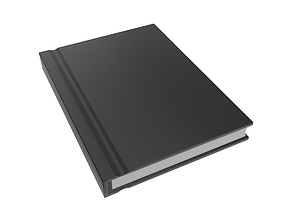 3D PBR Notebook closed size A8