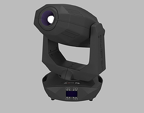 JB Lighting Varyscan P8 Moving Head 3D model