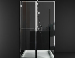 3D model Carena KDJ fresh 7q shower cabin