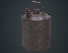 3D asset Fuel Can 4D