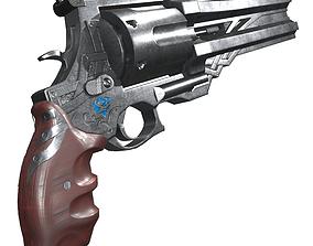 3D asset Blue rose