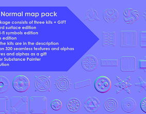 3D MEGA Normal map pack