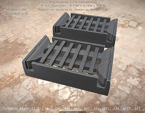 Road Drainage 1 Low-Poly Version 3D model