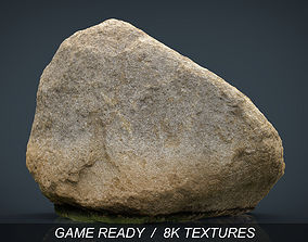 3D model game-ready Rock