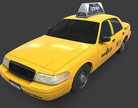 New York Taxi 3D model