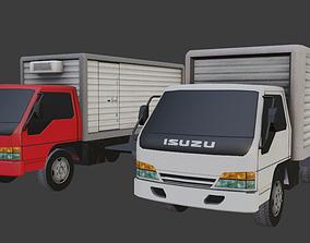 Isuzu Elf 3D asset rigged