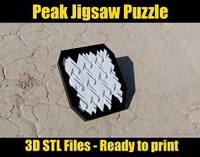 3D printable model Peak Jigsaw Puzzle