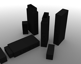 R3 Monolith Tea Box Green T 3D print model