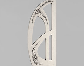 3D printable model Carved door
