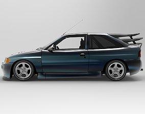 3D model Ford Escort RS Cosworth