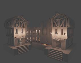 Big fantasy Inn 3D model
