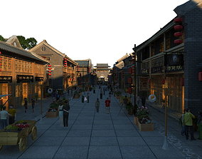 3D China street 047