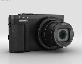 3D model Panasonic Lumix DMC-TZ70 Black