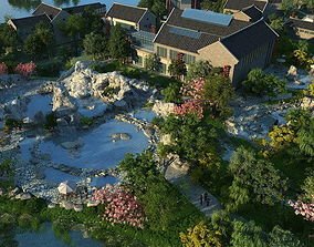 Ancient Chinese Gardens3 3D model