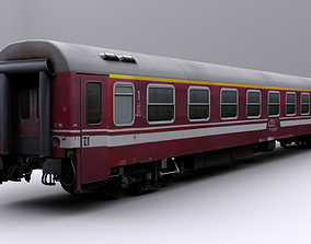 Train car 1 - Game Ready 3D asset animated
