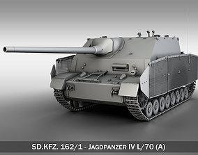 SDKFZ 162 Jagdpanzer IV L70A 3D model