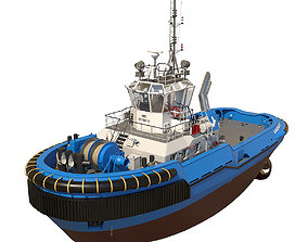 vessel Tugboat ASD 2810 3D model