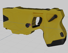 3D model Axon X2 Taser