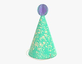 3D Party funny hat 02