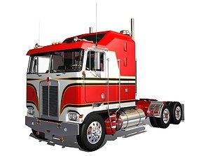 3D K100c Semi Truck