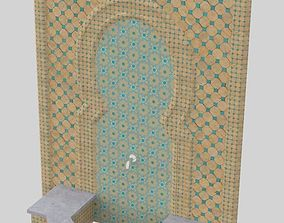 3D model MOROCCAN FOUNTAIN WATER FEATURE