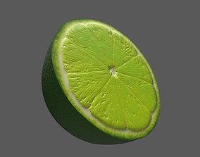 3D asset Lime Half