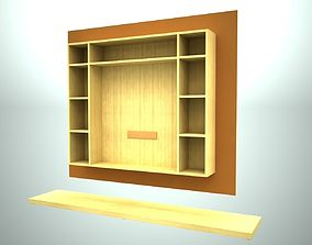 3D asset Hanging living room