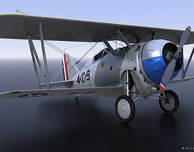 GRUMMAN F2F-1 US Marines 1937 3D