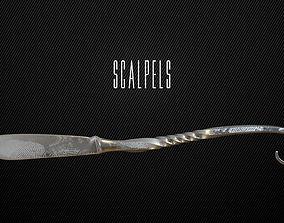 3D model 5 Scalpels
