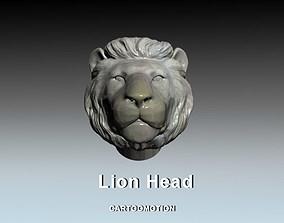 Lion Head 3D printable model