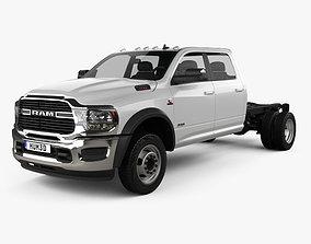3D Ram 3500 Crew Cab Chassis SLT 2019