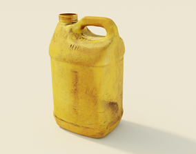 3D model Dirty Container - Plastic Bottle