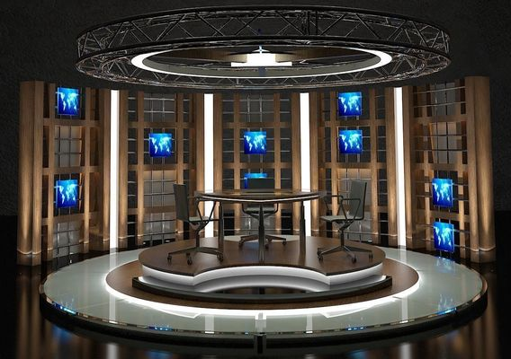 Virtual Tv Chat Set 17