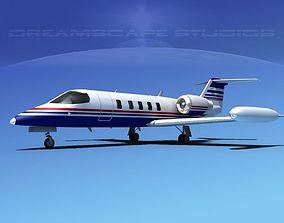 3D model Gates Bombardier Learjet 35 V05