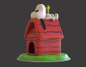 Snoopy 3D print model snoopy