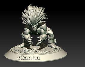Street Fighter Blanka 3D print model