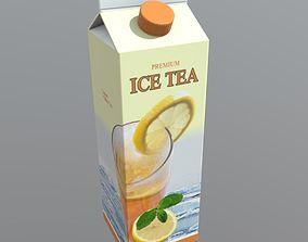 Ice Tea 3D asset VR / AR ready